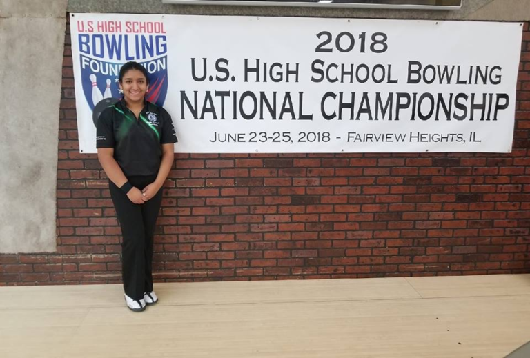 Aileen Linares 5th - Girls Singles High School Bowling National Championship