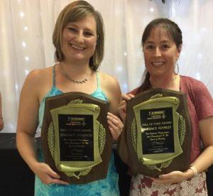 Sisters Shauna Shannon & Marsha Kuhnley both Hall of Fame Inductees