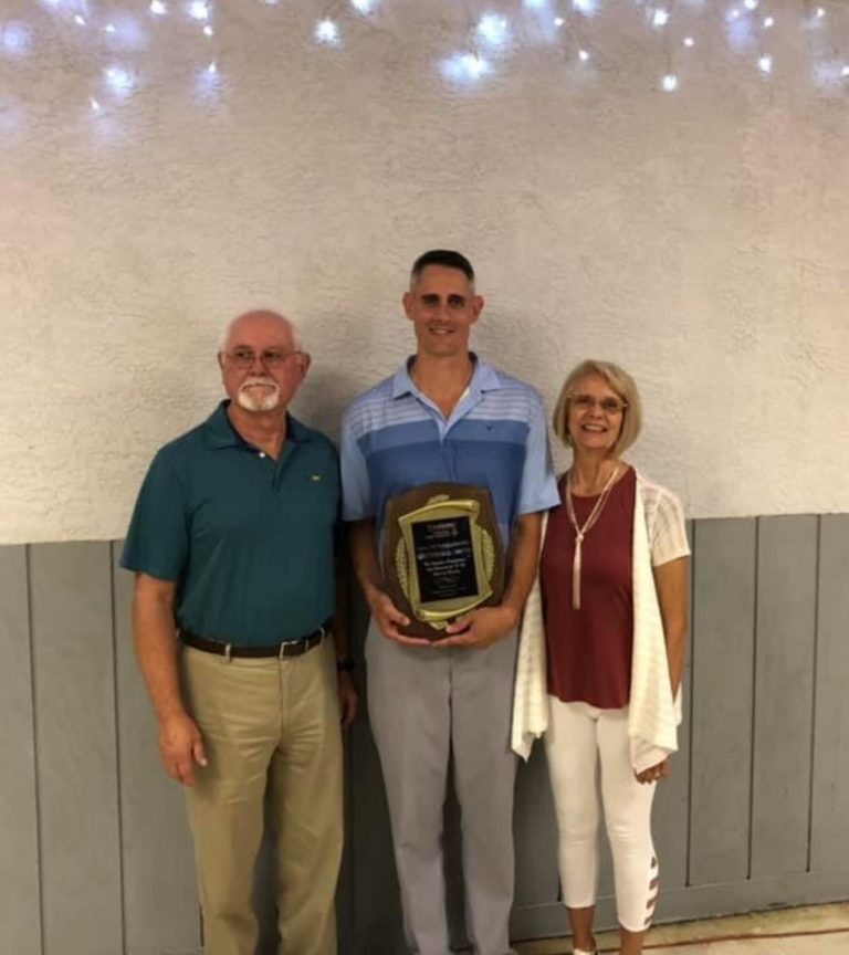 Hall of Fame Inductee Matthew D. Smith & Parents