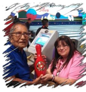 Navajo Code Talker David E Patterson, Sr and Delfina Eddington