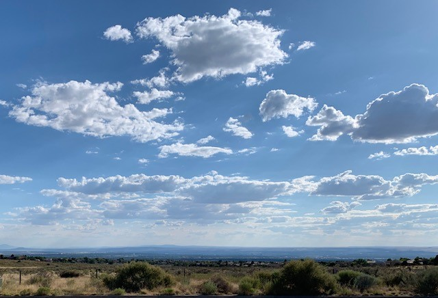 Albuquerque from foothills