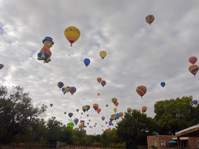 Balloons Over Corrales