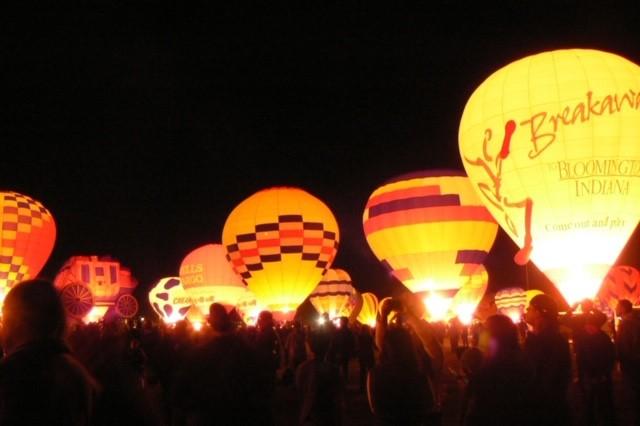 Balloon Fiesta Glow