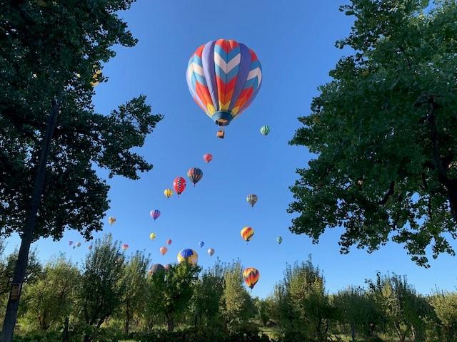 Balloon Fiesta Over Corrales
