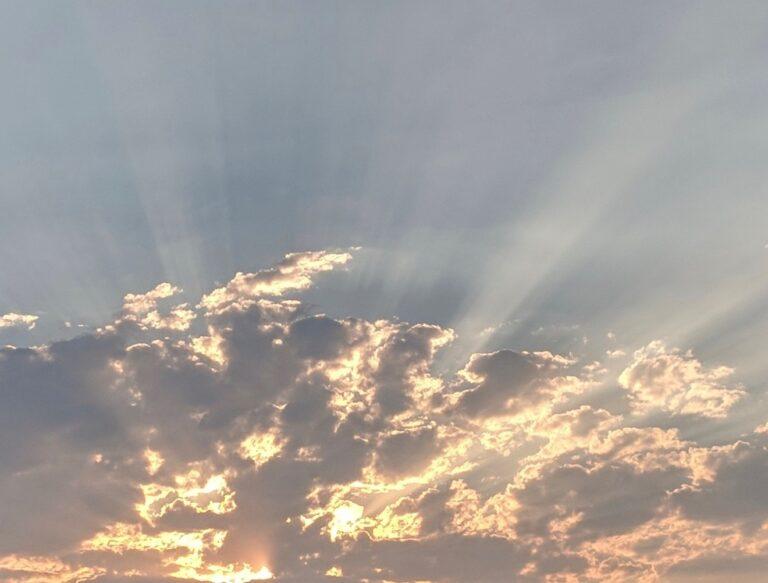 Sun & Clouds Over Albuquerque