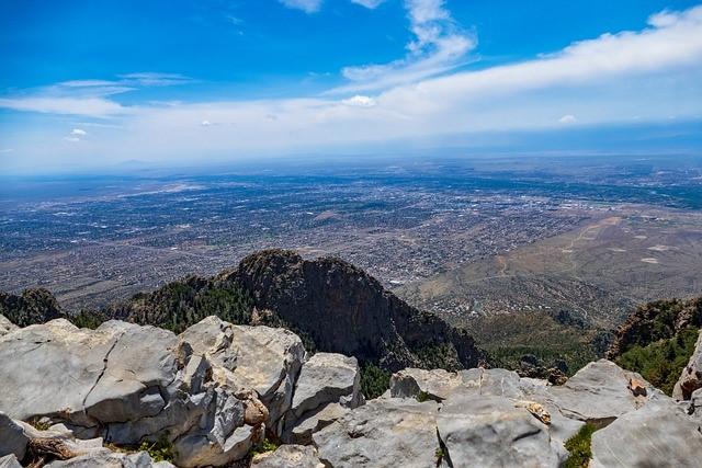Sandia Crest View of Albuquerque