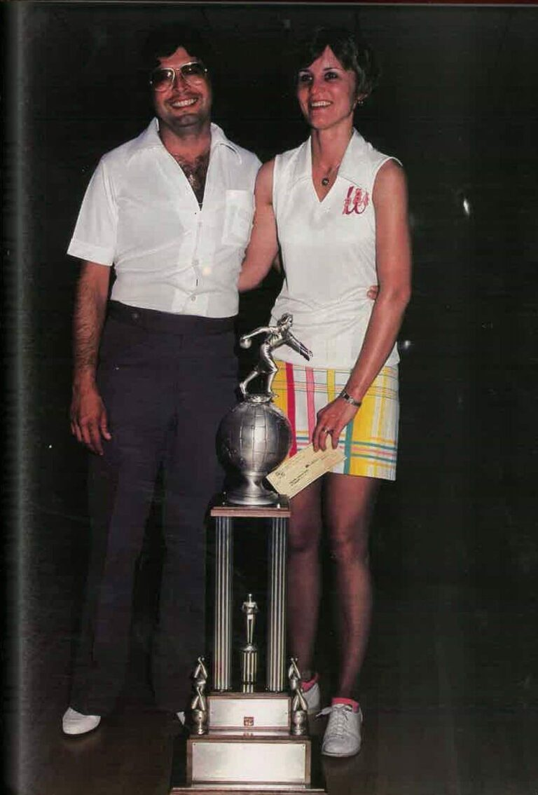 Art & Diana Silva - 1979 US Women's Open Champion
