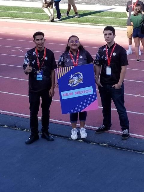 Jayden Martinez, Yarelis Alvarez,, and Michael Jamael Detroit Jr Gold