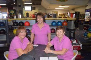 Golden Ladies League - Phyllis Eyer,  Lonnie Spero, Lita Espinoza