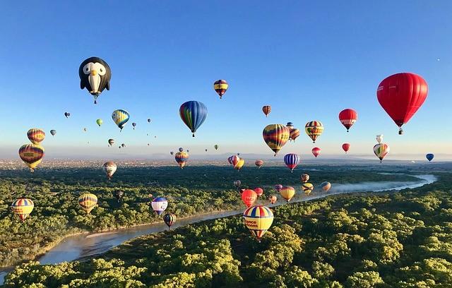 Rio Grande and Balloon Fiesta