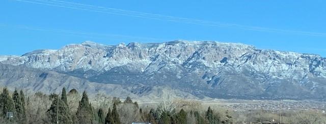 Sandia Mountains Winter