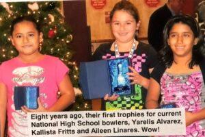 Yarelis Alvarez, Kallista Fritts and Aileen Linares