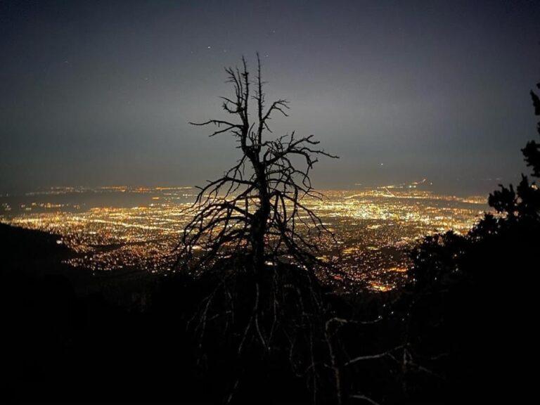 Albuquerque City Lights from Sandia Crest