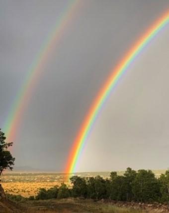 Sandia Park Double Rainbow