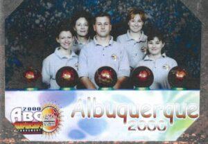 2000 ABC Nationals - Arli Jackson, Phylls Van Meter, Bobby Sours Shauna Van Meter & Marsha Kuhnley