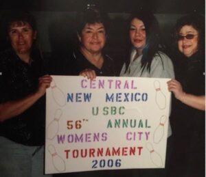 2005-06 Team Winners Carla Longfellow, Yvonne Estrada, Connie M. Gonzales and Delfina Eddington