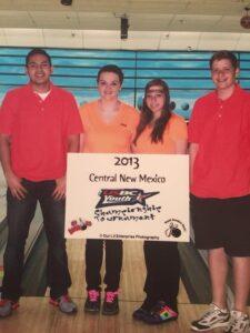 2013 Youth Championship Team Winners Bryan Silva, Cerra Strickland, Amberose and Austin Eddington