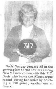 Doris Swager 1995 SP - AWBA