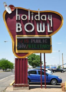 Holiday Bowl New Marquee